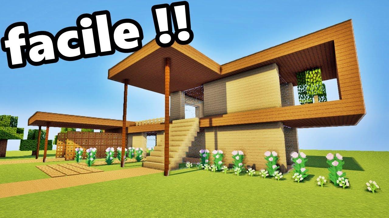 Tuto Petite Maison En Bois Minecraft