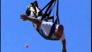 Andy doing the cable swing