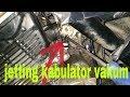 Cara Setting Karburator Vakum