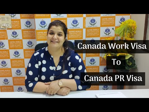 Journey From A Canada 🇨🇦 - Work Visa To PR Visa 🛂