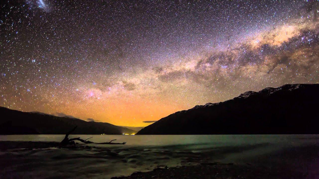 Penembakan New Zealand Hd: New Zealand With Aurora Australis