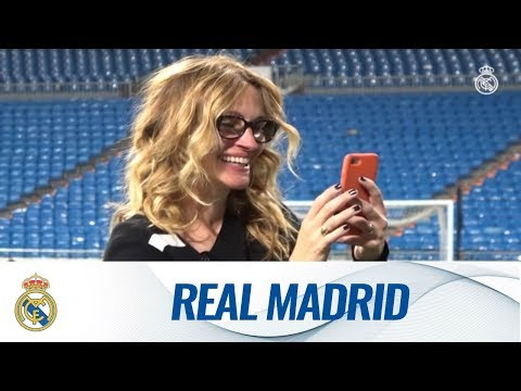 Check out Julia Roberts † Bernabéu experience!