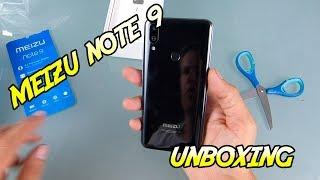 MEIZU NOTE 9.  Unboxing y puesta en funcionamiento en español