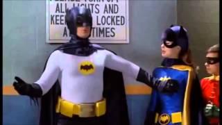 Return to the Batcave: Batman touch Batgirl. 2003 TV Movie.