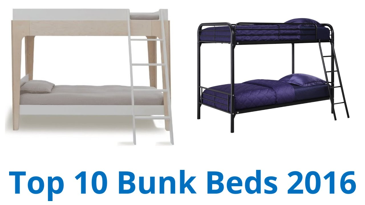 10 Best Bunk Beds 2016 Youtube
