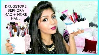 Huge Drugstore Makeup Haul, Sephora MAC KIYO NYX Daiso Japan Singapore Beauty Haul | SuperPrincessjo