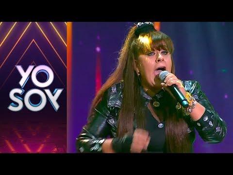"Angélica Carrasco cantó ""Viejo verde"" de Karla  Yo Soy Chile"