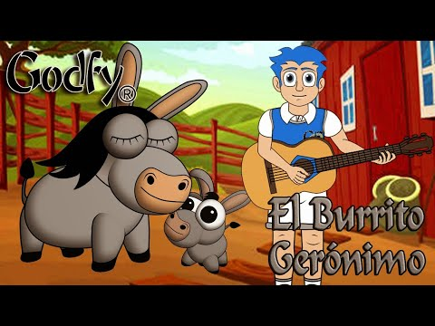 Godfy El Burrito Gerónimo Musica Infantil Educativa Cristiana