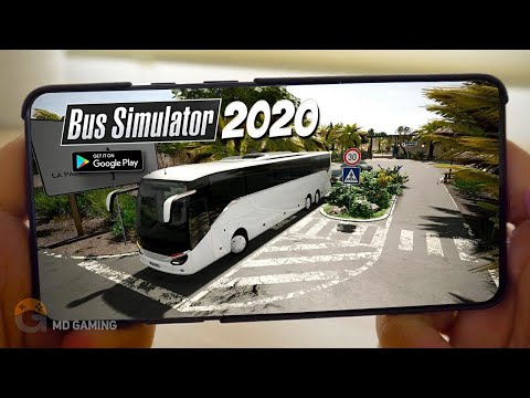 🔥TOP5🔥REALISTIC BUS SIMULATOR ANDROID GAMES 2020 | Free Offline Simulator Games【MD Gaming】