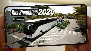 🔥TOP5🔥REALISTIC BUS SIMULATOR ANDROID GAMES 2020   Free Offline Simulator Games【MD Gaming】