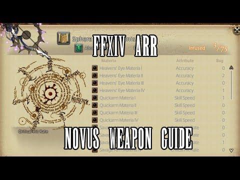 FFXIV ARR: Novus Weapon Upgrade Guide