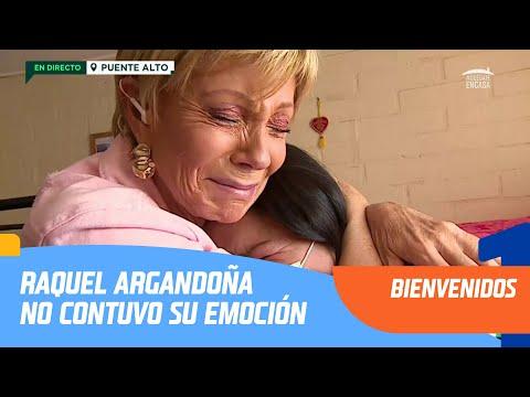 Raquel Argandoña no contuvo su emoción | Bienvenidos