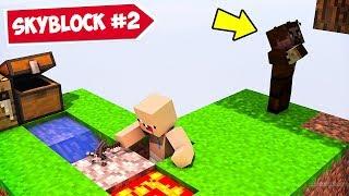 MİNECRAFT ama SKYBLOCK 2 😱 - Minecraft