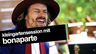 egoFM Kleingarten Session mit Bonaparte (live & unplugged @ egoFM)