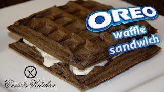 How To Make Oreo Waffle Sandwich