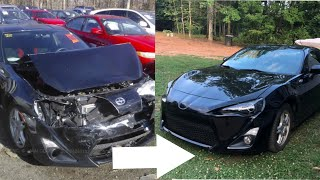Download Rebuilding A Wrecked 2014 Scion FRS IN 10 MINUTES Mp3 and Videos