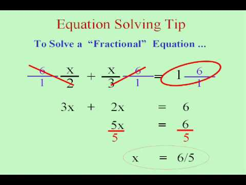 math worksheet : prealgebra and solving fractional equations  youtube : Solving Fractional Equations Worksheet