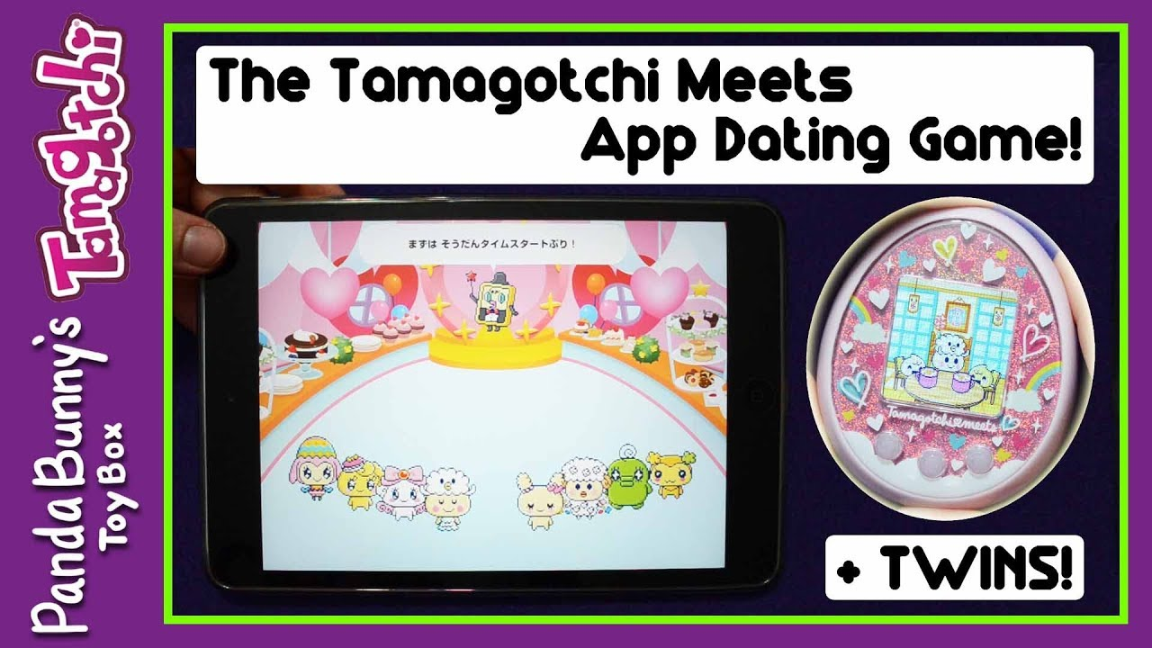 Trying The Tamagotchi Meets App Dating Game Marriage Twins Pandabunny Youtube