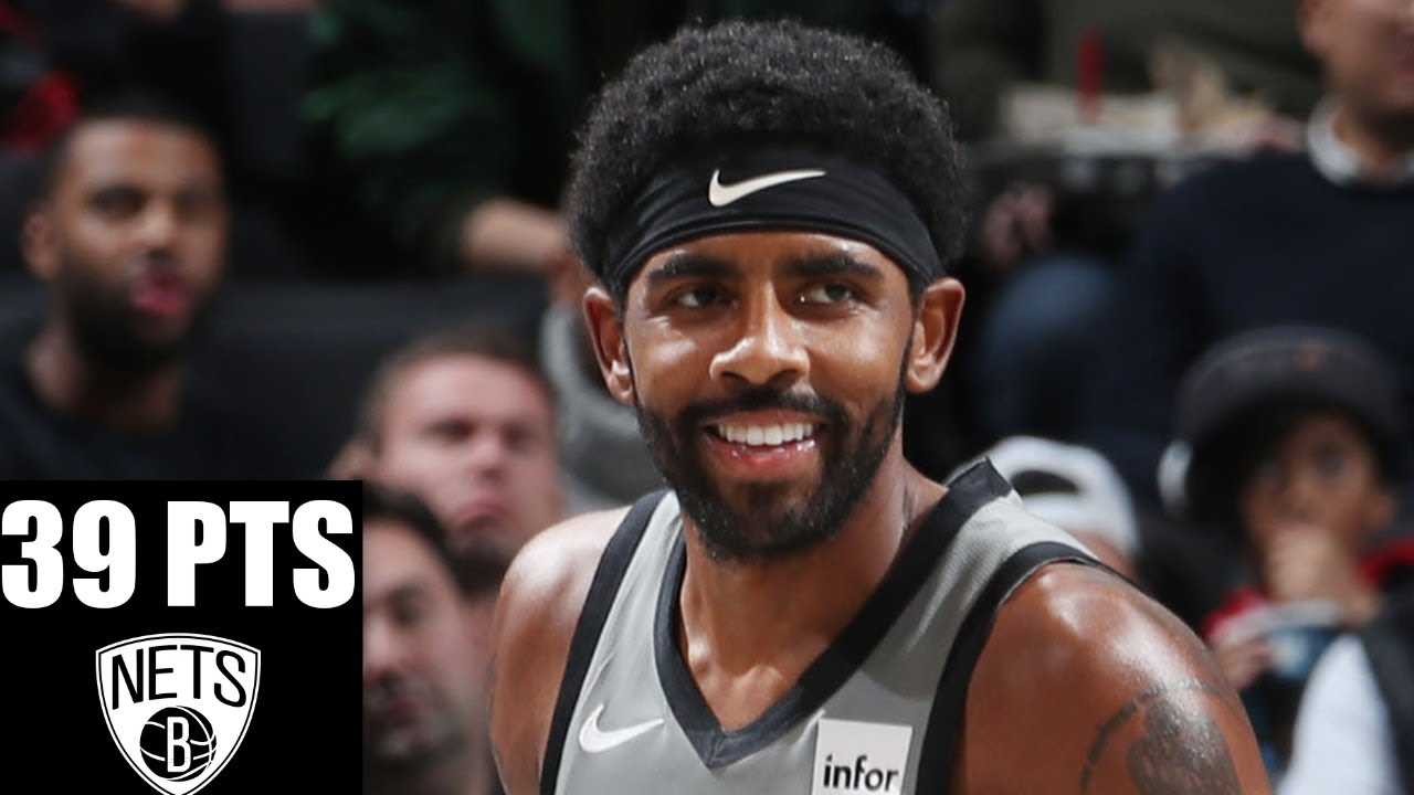 Kyrie Irving shows off his moves as he drops 39 points for the Nets | 2019-20 NBA Highlights