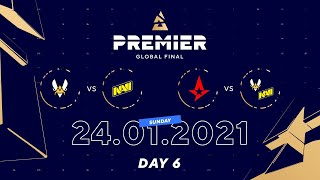 Grand Final Astralis vs NAVI | BLAST Premier Global Final Day 6