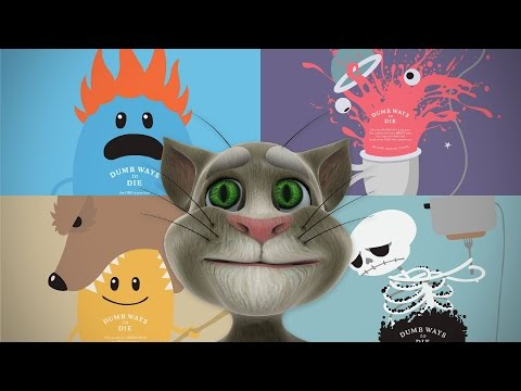 Dumb Ways to Die Karaoke - Talking Tom Cat singing