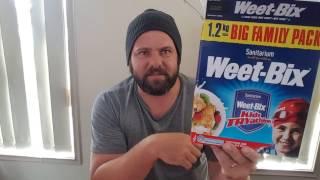 #livingonweetbix Weet-bix diet day 1