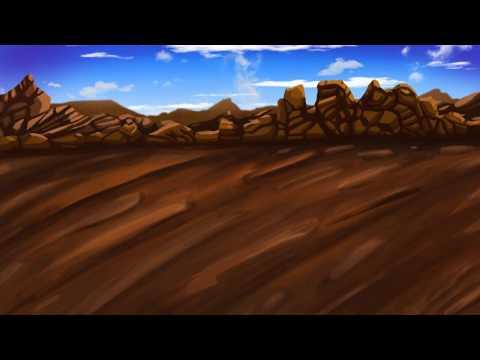 Photoshop – landscape Speed painting