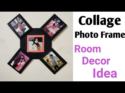 DIY Collage Photo Frame | Room Decor Idea | Best Out Of Waste