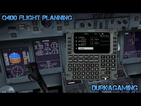 P3D - Majestic Q400 Flight Planning