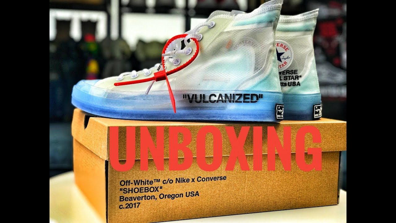 huge selection of 8b33f 1905f The LN5 off white x Converse Chuck Taylor 70 Unboxing by Flight Tiff