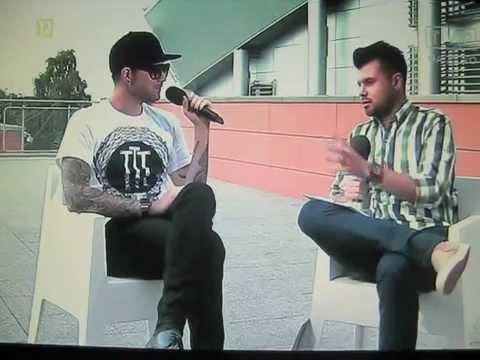 Adam Lambert - a short interview before Eska Music Awards Aug 29, 2015