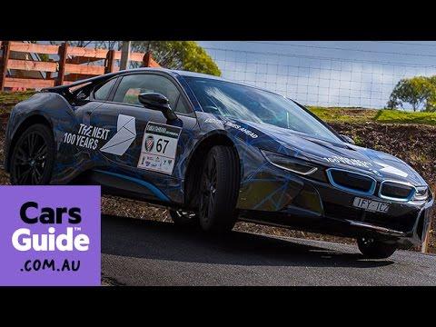 2016 Bmw I8 Review Targa Tasmania Video Youtube