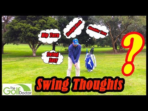 Simple Golf Swing Thoughts