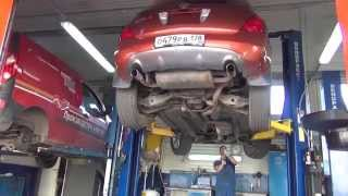 Замена катализаторов на Nissan Murano . Замена катализаторов на Nissan в СПБ .