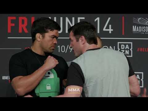 Bellator 222: Lyoto Machida vs. Chael Sonnen Staredown - MMA Fighting