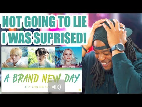 BTS – A Brand New Day ft. Zara Larsson [Color Coded Lyrics/Han/Rom/Eng/가사] Reaction!!!