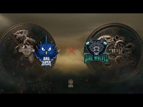 SuperMassive x Dire Wolves (MSI 2018 - Fase de Entrada - Rodada 1 - Dia 2)