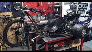 Motorized Drift Trike Start Racing