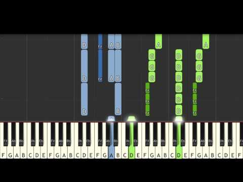 How I played It: M83 - Oblivion - Karim Kamar [Piano Tutorial] (Synthesia)
