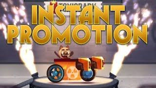 INSTANT PROMOTION TO STAGE 18! | C.A.T.S. Crash Arena Turbo Stars