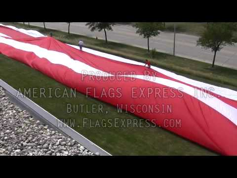 Huge American Flag - How To Make