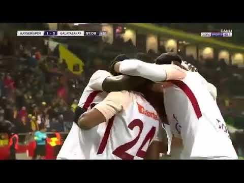 Kayserispor 1-3 Galatasaray (22/01/2018) Geniş Maç Özeti