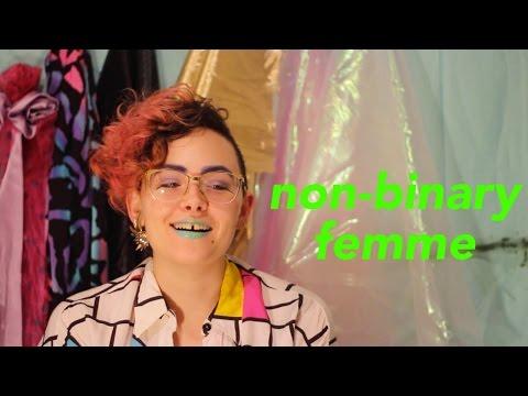 trans non-binary femme