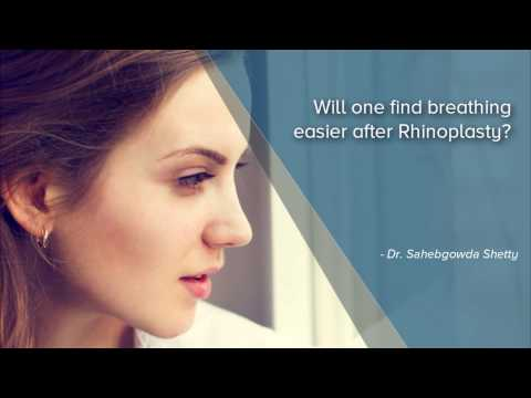 Will one find breathing easier after Rhinoplasty