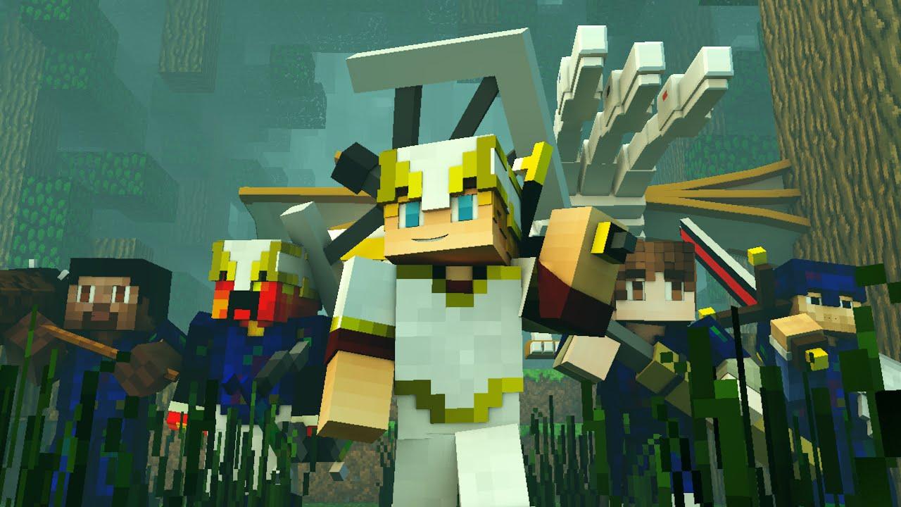 Minecraft Unicorn Girl Skin