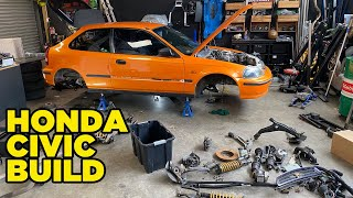 Our Honda Civic Build *DISRESPECTED CIVIC* (EP2)