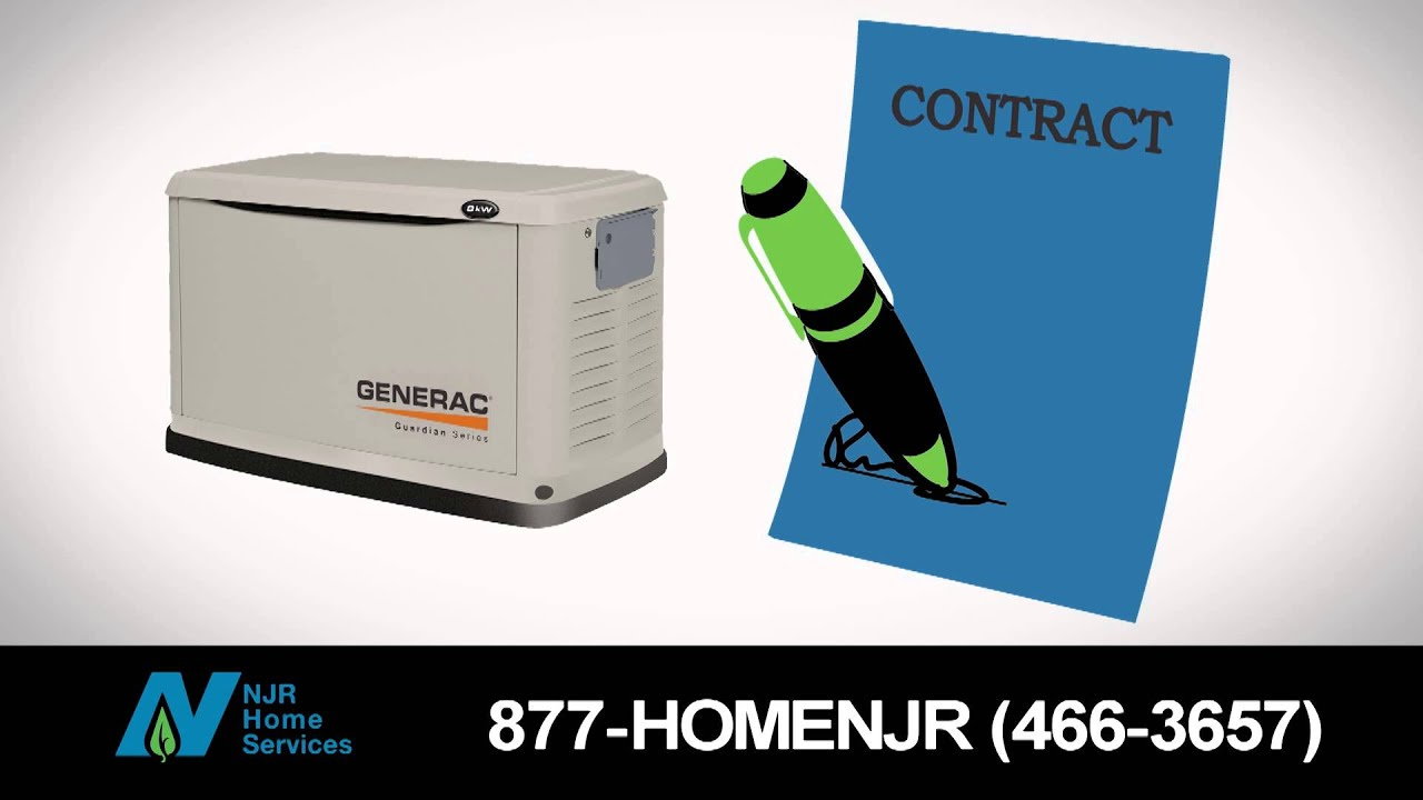 Home Generator Maintenance Contracts Njr Home Services Youtube