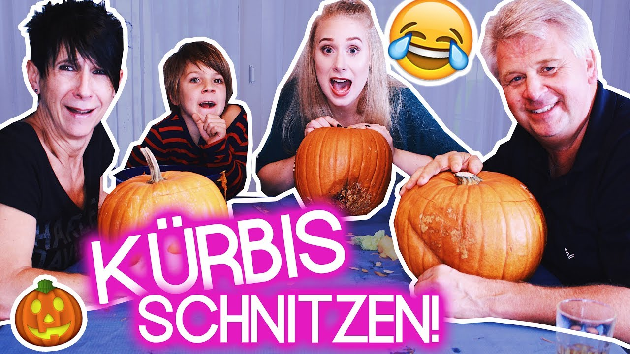 halloween k rbisse schnitzen mit meiner familie i maren vivien youtube. Black Bedroom Furniture Sets. Home Design Ideas