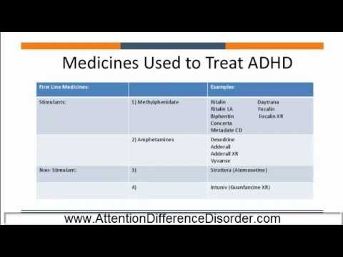 add adult hd in medication