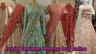 5000 का लहँगा यह से ले 1000 में । surat lehenga manufacturer bridal non-bridal bollywood lehenga